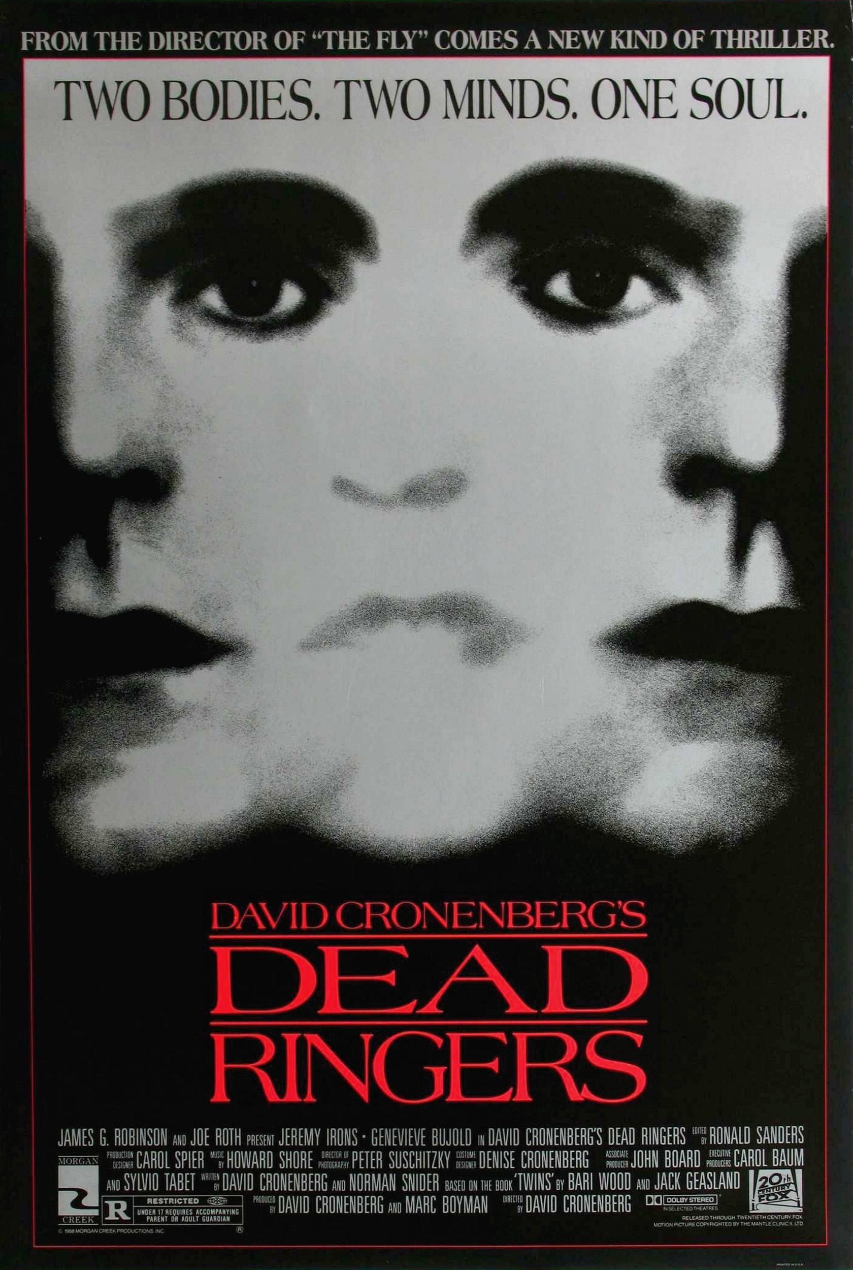 Affichons les affiches - Page 11 Dead_ringers_poster