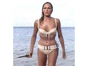 ursula andress in the james bond film doctor no