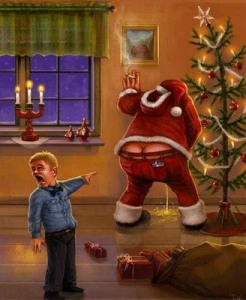 Messy-Santa