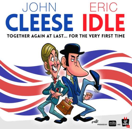 To see the incomparable john cleese and eric idle live in concert when