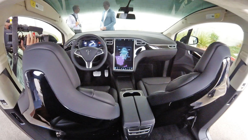 Testing The Tesla X Suv Windupmyskirt